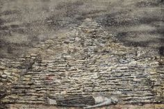 Anselm Kiefer, Man under a pyramid, 1996.