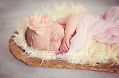 Petal - Blush  Pink cheesecloth wrap - Newborn Photography prop- Baby wrap - photography. $12.00, via Etsy. Photo by Lisa Siddall Photography