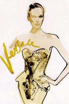 David Downton - Versace.