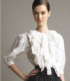 Edwardian Inspired blouse