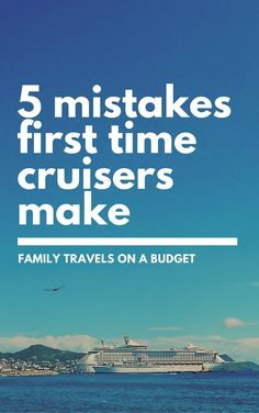 What first time cruisers should know Cruise mistakes are common, especially for first-timers. Here are 5 of the most common and how to avoid them.Cruise mistakes are common, especially for first-timers. Here are 5 of the most common and how to avoid them. Packing List For Cruise, Cruise Travel, Cruise Vacation, Vacation Trips, Vacations, Disney Cruise, Vacation Ideas, Honeymoon Cruises, Shopping Travel