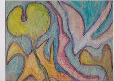 "James Feely, ""Diving Bird"" - mixed media, 9.5"" x 7.5"" on ArtStack #james-feely #art"