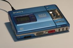 December 8th – Sony Walkman Minidisc Recorder MZ-R50
