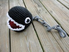 Super Mario inspired Chain Chomp. $56.00, via Etsy.