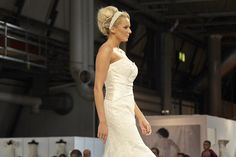 enchanted from Jaynealison Millinery - on the catwalk at National Wedding Show, NEC oct 2013