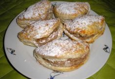 Gesztenyés papucs Hungarian Desserts, Hungarian Recipes, Hungarian Food, Poppy Cake, Christmas Baking, Baked Potato, French Toast, Food And Drink, Sweets