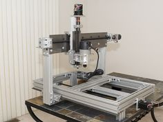 Homemade CNC router.