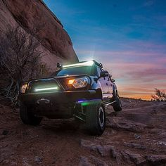 Toyota Tacoma w/ All-Pro Apex front bumper and IFS components
