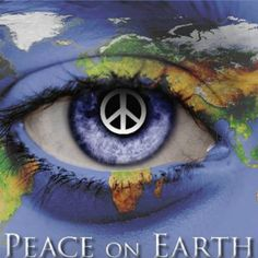 Peace On Earth! Peace begins in our heart and on our plate.