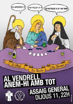 """""""Al Vendrell, anem-hi amb tot"""", d'Edu Polo. Colla Jove Xiquets de Tarragona."""