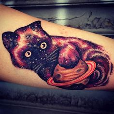 Space Tattoos - Space Kitty!