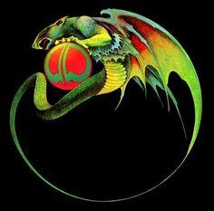 Roger Dean's beautiful dragon