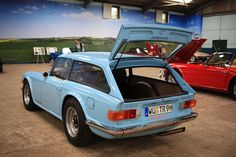 Triumph TR6 Shooting Brake- Triumph at Malvern Aug 2013 - 03 | by Rally Pix