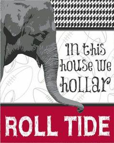 Roll Tide Roll !!!