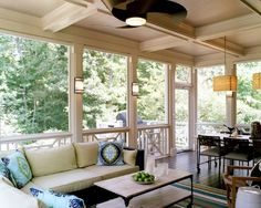 Deck ideas for enclosed porch archadeck of kansas city decks screen porches sunrooms - Enclosed balcony design ideas oases of serenity ...