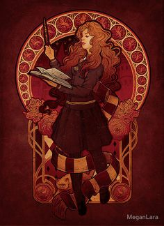 The Brightest Witch of Her Age signed art print - 8.5x11 $20