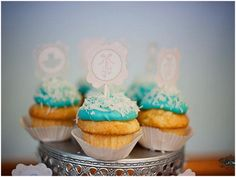 Cupcake toppers #nutcrackerwedding #weddingdesserts
