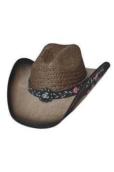 12905371d94 Bullhide Women s Enchanted Straw Cowgirl Hat