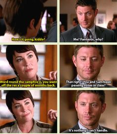 I think there's going to be a ton you can't handle, Dean :( 10x08 Hibbing 911