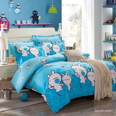 Blue Tuzki Rabbit Bedding Set