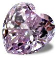 Purple diamonds are very rare. It is believed that they have a similar cause of color as pink diamonds; crystal distortion. They are most often found in Siberia and are generally small in size. There are no historical or famous purple diamonds. This may be due to their inhospitable location. Purple diamonds larger than 5 carats are extremely rare, and their color rarely reaches the intense and vivid color grades.