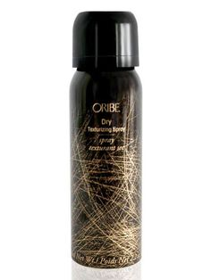 "RealBeauty.com gives 33 product picks to ease your beauty routine, including Oribe Dry Texturizing Purse Spray: ""If you know you may be sleeping out or you just want to play it by ear (wink, wink), stash this travel-size, texturizing spray in your purse."" #OribeHairCare #Purse #Travel"