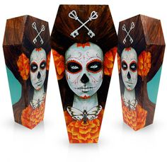 RONEN™   Day of the Dead coffins