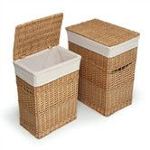 $51   Found it at AllModern - Wicker Hampers (Set of 2)