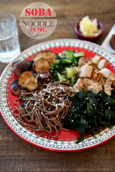 Vegan Soba Noodle Bowl