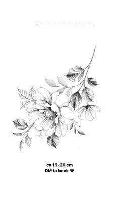 Floral Tattoo Design, Mandala Tattoo Design, Flower Tattoo Designs, Line Work Tattoo, Dot Work Tattoo, Flor Tattoo, Flower Tattoo Drawings, Viking Tattoos, Mini Tattoos