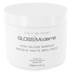 The Ten Best Anti-Frizz Hair Masks // #10 GLOSS Moderne High-Gloss Masque // Check out the rest of the best here!