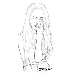 New Art Drawings Sketches Doodles Artists Ideas Doodle Art Drawing, Pencil Art Drawings, Manga Drawing, Art Drawings Sketches, Cartoon Drawings, Cute Drawings, Sketch Drawing, Drawing Ideas, Sketching