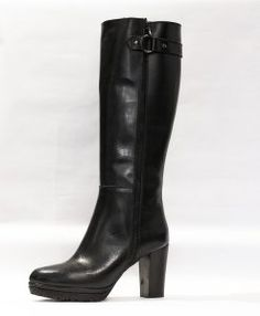 cizme-negre-1019-2 Fall Shoes, Heeled Boots, Fall Winter, Heels, Collection, Women, Style, Fashion, High Heel Boots