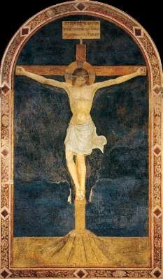 Fra Angelico, real name Fra Giovanni da Fiesole, ~ Crucified Christ… Fra Angelico, Religious Paintings, Religious Art, Crucifixion Of Jesus, Jesus Christ, Savior, Italian Renaissance, Renaissance Art, Darkness At Noon