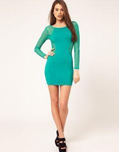 Mint  Green Motel dress