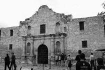 The iconic Alamo of San Antonio