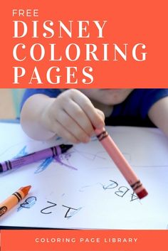 Free Disney Coloring Pages | Free Disney Printables | Disney Activities for Kids | Disney at Home | Kid Friendly Disney Activities | All Things Disney || Lipgloss and Crayons