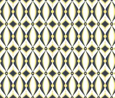 mod wallpaper fabric by ninjaauntsdesigns on Spoonflower - custom fabric