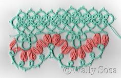 Needlecraft 1927 February Tatting Combines with Rickrack and Novelty Braids Pattern 1 - Anna J. Johnson