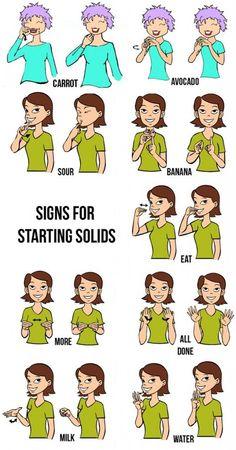 Infant Sign Language Chart Luxury Baby Sign Language First Foods Hellobee Baby Sign Language Chart, Sign Language Phrases, Sign Language Alphabet, Learn Sign Language, Body Language, Dibujos Anime Chibi, British Sign Language, Libra, Asl Signs