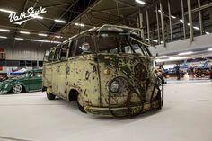 Mean looking rat bus