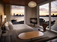 The Standard Hotel Bedroom