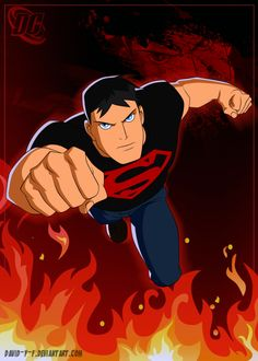 Young Justice. Connor Kent aka Superboy