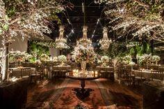 Casamento moderno: decoração verde, branca e rosa - Foto Anna Quast e Ricky Arruda Fotografia