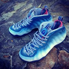 quality design 8891d c6fc6 Nike Air Foamposite One Great White Custom Custom Sneakers, Custom Shoes,  Shoes Sneakers,