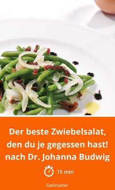 Der beste Zwiebelsalat, den du je gegessen hast!  | eatsmarter.de #lowcarb #lowcarbdiet #lowcarbrezepte