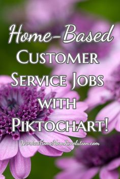 Piktochart is seeking home-based customer delight officers in the US to provide excellent customer service, assisting customers via online chat and Skype. Super work at home opportunity! You can work from home and make money online!