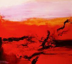 ZAO WOU-KI http://www.widewalls.ch/artist/zao-wou-ki/  #contemporary  #art
