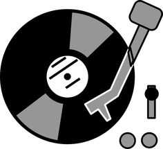 excellent images for turntable top view clipart cm programming rh pinterest com turntable clip art free dj turntable clipart