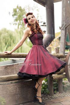 Atelier Belle Couture | Petticoatkleid Silvesterkleid